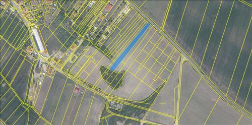 Prodej 3 stavebních pozemků o výměře 7.516m2, k.ú. Dyje, okres Znojmo