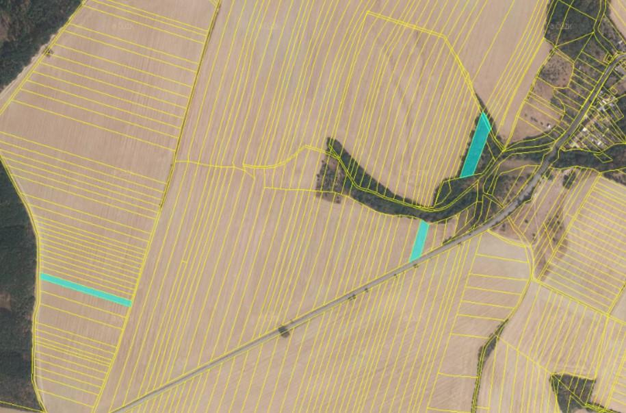Pozemek zemědělský na dražba, Drahanovice